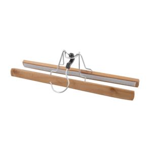 Uchwyt drewniany 30 cm VESPERO, na spodnie / spódnice