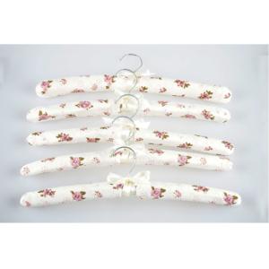 Wieszaki tekstylne na odzież VESPERO model Butterfly